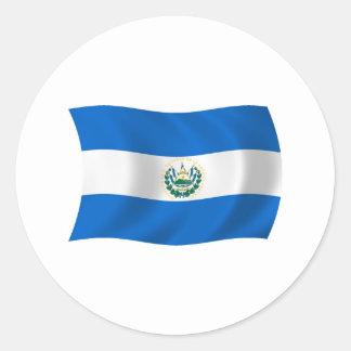 El Salvador Flag Sticker