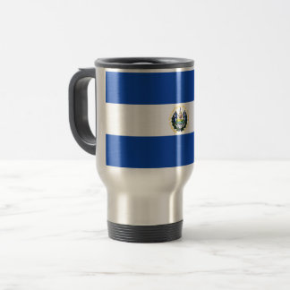 El Salvador Flag Travel Mug