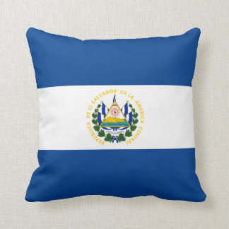 El Salvador Flag x Flag Pillow