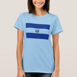 El Salvador Flag x Map T-Shirt