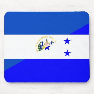 el salvador honduras half flag country symbol mouse pad