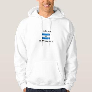 EL Salvador Hooded Sweatshirts
