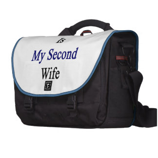 El Salvador Is My Second Wife Laptop Computer Bag