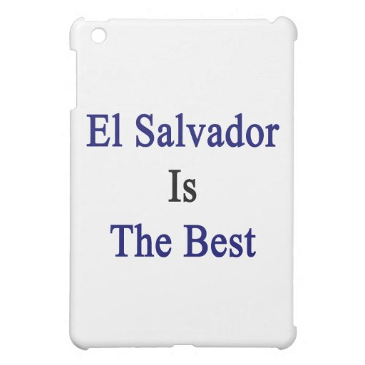El Salvador Is The Best Case For The iPad Mini