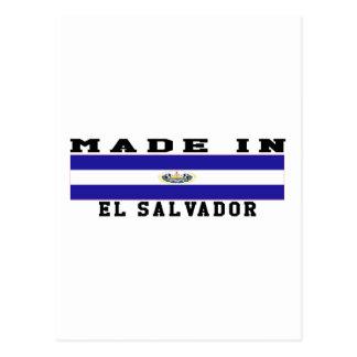 El Salvador Made In Designs Postcard