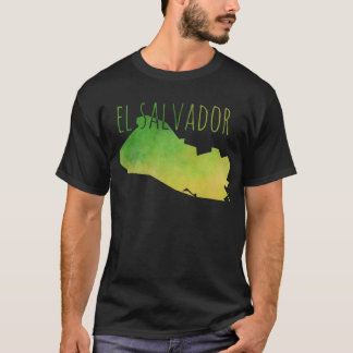 El Salvador Map T-Shirt