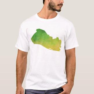 El Salvador Map T-Shirt