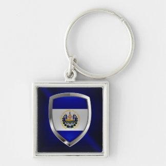 El Salvador Mettalic Emblem Key Ring