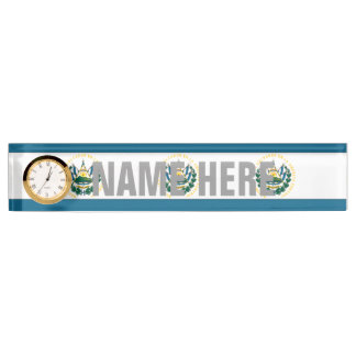 El Salvador Desk Nameplate