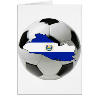 El Salvador national team Greeting Card
