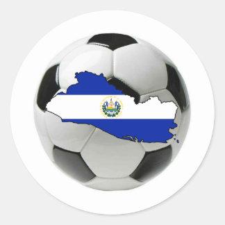 El Salvador national team Round Sticker