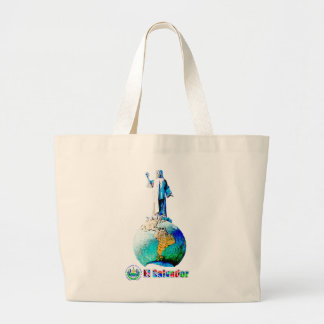 El Salvador of the world Jumbo Tote Bag