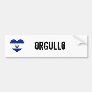 El Salvador orgullo(pride) Bumper Sticker
