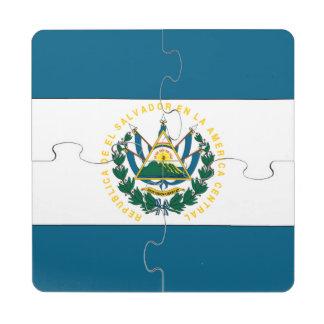 El Salvador Puzzle Coaster