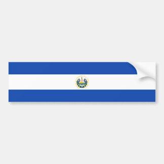 El Salvador/Salvadoran Flag Bumper Sticker