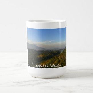 El Salvador-San Salvador Volcano Coffee Mug