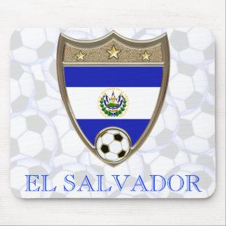 El Salvador Soccer Mousepad