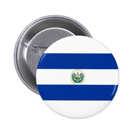 El Salvador State Flag Pins