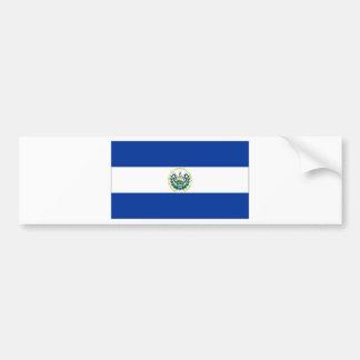 El Salvador State Flag Bumper Sticker