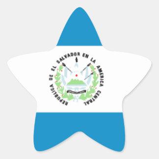 El Salvador Star Sticker
