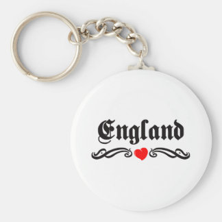 El Salvador Tattoo Style Basic Round Button Key Ring