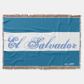EL SALVADOR THROW BLANKET HAVIC ACD