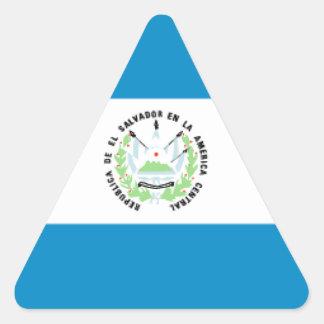 El Salvador Triangle Sticker