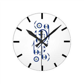 El. Salvador Wall Clock