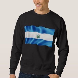 El Salvador Waving Sweatshirt