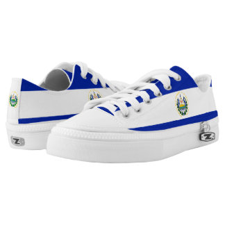 El Salvadoran Flag Printed Shoes