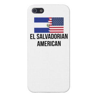 El Salvadorian American Flag iPhone 5/5S Case