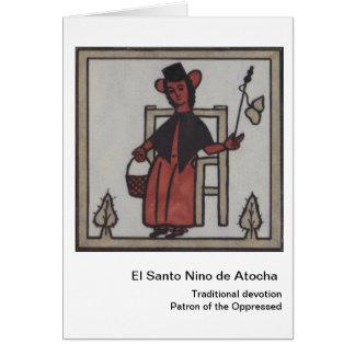 El Santo Nino de Atocha Card