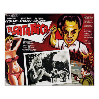 El Satanico Poster