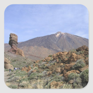 El Teide custom stickers