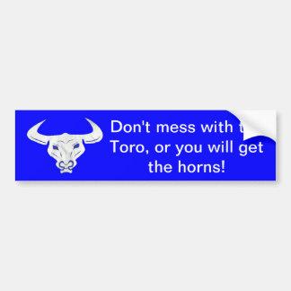 El Toro Bumper Sticker