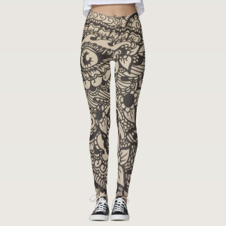 Elaborate Eye Leggings