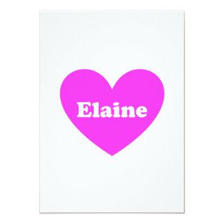 Elaine 13 Cm X 18 Cm Invitation Card