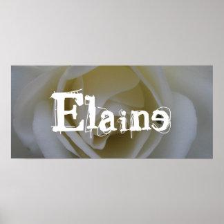 Elaine Posters
