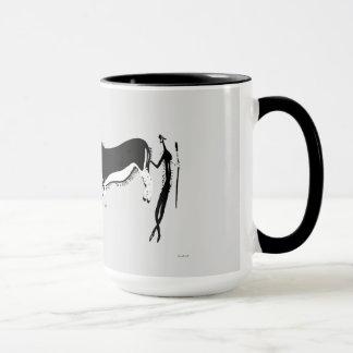 Eland and Man Mug