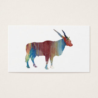 Eland antelope business card