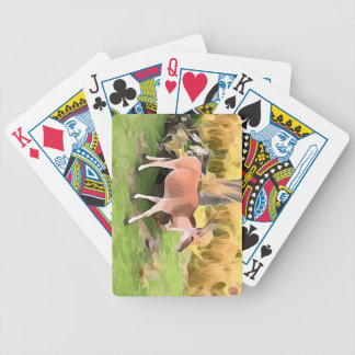 Eland Antelope from Safari Poker Deck
