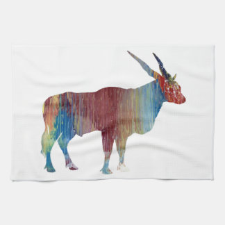 Eland antelope tea towel