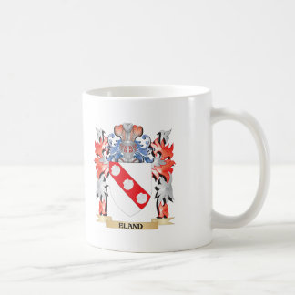 Eland Coat of Arms - Family Crest Coffee Mug