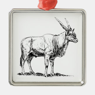 Eland Metal Ornament