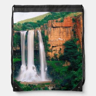 Elands River Falls, Mpumalanga, South Africa Drawstring Backpack
