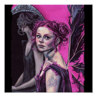 elanya the faery scryer poster