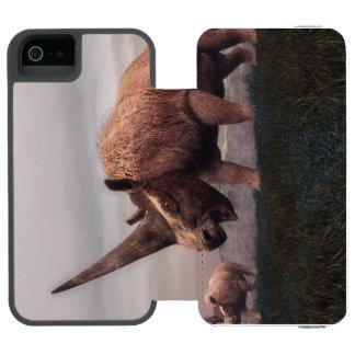 Elasmotherium mammal dinosaurs - 3D render Incipio Watson™ iPhone 5 Wallet Case