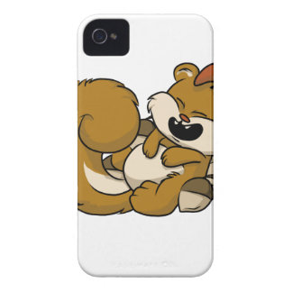 Elated Squirrel! iPhone 4 Covers