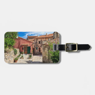 Elba Island - view in Marciana Luggage Tag