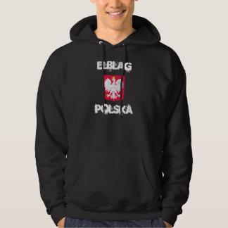 Elblag, Polska, Elblag, Poland with coat of arms Hoodie